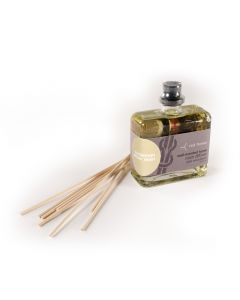 cardamom amber resin intensely-scented organic room diffuser